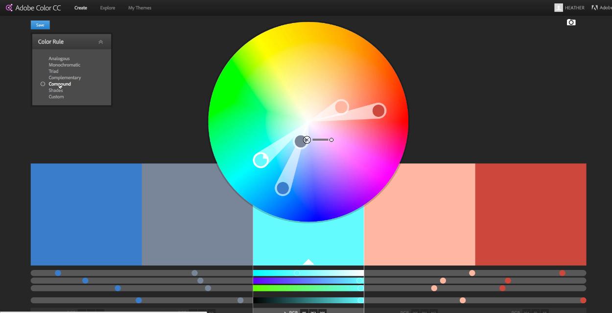 Indesign_finding color inspiration
