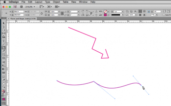Pen Tool in InDesign