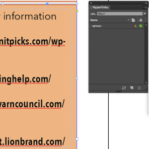 Converting a series of URLs to Hyperlinks