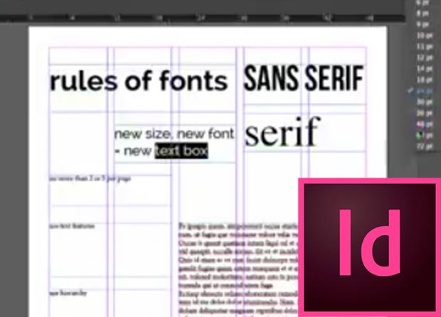 font rules
