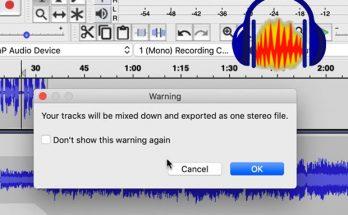 screenshot of export dialog